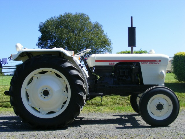 Tractor Restoration Projects : David brown