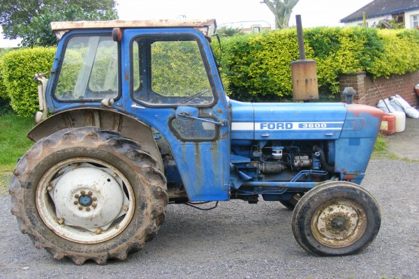 Tractor Restoration Projects : Ford