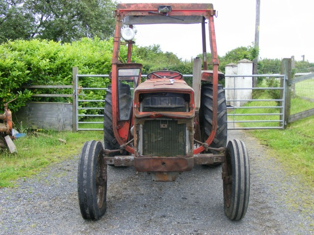Tractor Restoration Projects : Mf